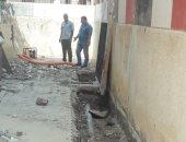 صور.. بدء صيانة المدارس بالبحيرة استعدادا للعام الدراسى