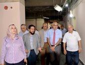 صور.. رئيس جامعة المنصورة يتفقد المراحل النهائية لتطوير وحدات مستشفى الأطفال