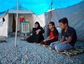 عراقيون يتركون بيوتهم المحررة من تنظيم داعش ويعودون للعيش فى المخيمات