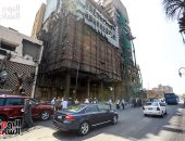 صور .. إعادة فتح شارع كورنيش النيل أمام معهد الأورام