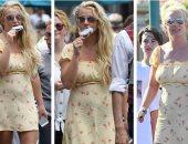 صور.. تعرف على سعر فستان بريتنى سبيرز من تصميم دار أزياء Flynn Skye