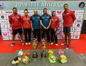 10 لاعبين يمثلون الطاولة فى دورة الألعاب الأفريقية