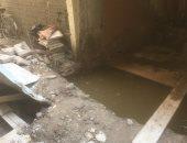 أهالى قرية الشيخ عثمان بالحوامدية يشكون من انتشار المياه الجوفية بالمنازل