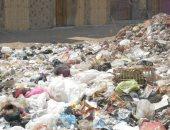اضبط مخالفة..انتشار القمامة أمام سوق الجملة وكوبرى الفريق رضا حافظ بالمحلة