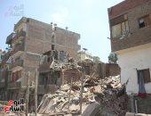 المتضررين من انهيار عقار زينهم يطالبون بتوفير أماكن بديلة ملائمة