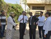 صور.. رئيس جامعه القناة يوجه برفع كفاءة جميع المبانى والمدرجات بالجامعة القديمة