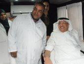 """صور.. السفارة السعودية تطلق مبادرة """"روابط الدم"""" تضامنا مع ضحايا معهد الأورام"""