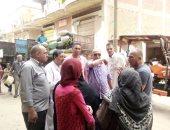 إحالة 8 من العاملين بوحدة أبو صير بسمنود للتحقيق ورئيس المدينة يقود حملة نظافة