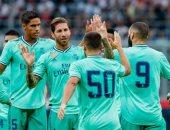هازارد يقود ريال مدريد لفوز صعب على سالزبورج النمساوى وديا.. فيديو