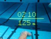 نظارات سباحة ذكية تقيس مسافة السباحة والسعرات الحرارية المحروقة