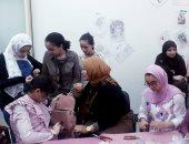 شاهد مشاركة الأطفال فى ورش صناعة الحلى وأدوات الزينة × 15 صورة