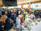 """"""" تحيا مصر"""" يوزع 15 ألف قطعة ملابس على الأسر الأكثر احتياجا بمناسبة عيد الاضحى"""