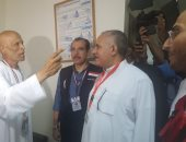 صور.. بعثة الحج الرسمية تقوم بجولة على مستشفيات مكة لتفقد حالة المرضى المصريين