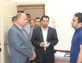 محافظ المنوفية يستقبل السكرتير العام الجديد لمباشرة مهام عمله بالمحافظة