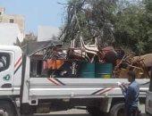 إزالة 3109 حالة إشغال بشوارع الرحمانية بالبحيرة