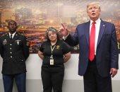 """""""ترامب"""" يلتقى فرق الطوارئ وإنفاذ القانون عقب إطلاق نار فى أوهايو و تكساس"""