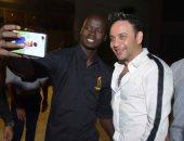 """صور.. مصطفى قمر يتألق فى حفل غنائى بأكتوبر ويحتفل مع جمهوره بألبومه """"ضحكت ليا"""""""