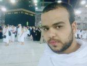 """""""عدنان"""" من أمام الكعبة.. الحمد لله الذى تتم بنعمته الصالحات"""