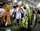 انطلاق معرض الورود والزهور فى لندن ببريطانيا