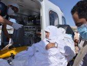 طائرة الإخلاء الطبى تشارك لأول مرة فى تفويج الحجاج