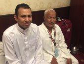 والد شهيد سيناء من الأراضى المقدسة: أشعر بروح ابنى ترفرف فى المكان
