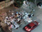 أهالى حدائق القبة يشكون انتشار القمامة