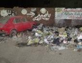 تراكم القمامة بشارع لاشين فى المريوطية فيصل