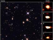 اكتشاف 39 مجرة قديمة كانت غير مرئية من قبل.. اعرف التفاصيل