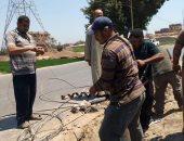 """صور.. انقطاع الكهرباء عن قرى بالقنايات.. و""""كهرباء الشرقية"""": جار إصلاح العطل"""