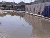 صور .. اضبط مخالفة.. مياه الصرف الصحى تغرق شوارع مدينة بلبيس بالشرقية