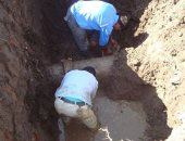 إصلاح خط مياه بقرية المجد وتغيير خط آخر وإلزام المواطنين برفع القمامة بكفر الشيخ