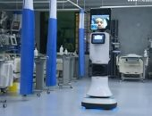 """شاهد.. """"روبوت دكتور"""" خدمة طبية سعودية لخدمة حجاج بيت الله"""