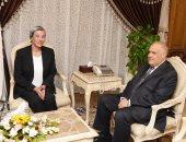 رئيس الهيئة العربية للتصنيع يستعرض مع وزير البيئة منظومة تدوير المخلفات