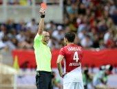 """موناكو ضد ليون.. هدفان وطرد فابريجاس فى الشوط الأول """"فيديو"""""""