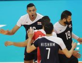 منتخب مصر للكرة الطائرة شباب يخسر من إيطاليا 3/1 فى بطولة العالم