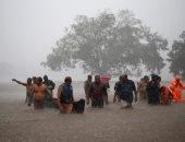 """إلغاء جميع الرحلات بخط السكك الحديدية """"كونكان"""" بالهند بسبب الأمطار"""