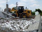 صور .. إزالة 175 حالة  تعدى على الاراضى الزراعية وأملاك الدولة بالبحيرة