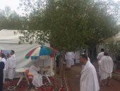 فيديو.. أمطار الرحمة والمغفرة تتساقط على الحجاج بصعيد عرفات