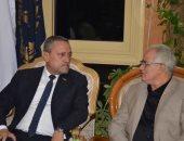 محافظ الإسماعيلية يناقش مع مدير الأمن الاستعدادات النهائية لاستقبال عيد الأضحى المبارك