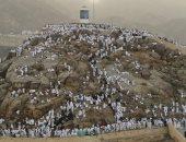 سقوط أمطار كثيفة على جبل عرفات بسبب تغيرات المناخ