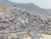 لبيك اللهم البيك ..جبل عرفات سمى بجبل الرحمة والوقوف به أهم مناسك الحج