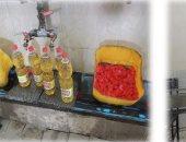 """ضبط 5 مصانع """"بدون ترخيص"""" بالقليوبية لإنتاج وتعبئة زيوت الطعام والصابون والمعسل المغشوش"""