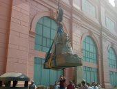تعرف على آخر مستجدات تطوير المتحف المصرى بالتحرير