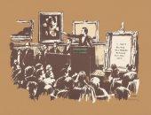 """سوثبى وكريستيز يعتزمان بيع لوحات """"بانسكى"""" فى مزاد إلكترونى.. اعرف التفاصيل"""