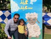 """""""العيد فرحة"""".. توزيع بالونات وفقرات غنائية ومسابقات داخل مستشفى أطفال المنصورة..صور"""