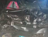 إصابة 8 أشخاص فى حادث تصادم سيارتين بأسيوط