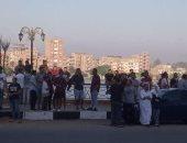 صور.. إقبال المواطنين علي حدائق القناطر الخيرية للاحتفال بعيد الأضحى