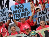 صور.. مؤيدو مادورو يحتشدون بكاراكاس تنديدا بالعقوبات الأمريكية