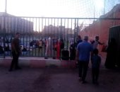 توافد المصلين على الساحات لتأدية صلاة العيد بالشرقية