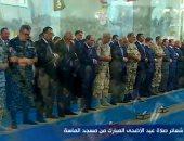 الرئيس السيسى يصل مسجد الماسة بالعلمين الجديدة لأداء صلاة عيد الأضحى